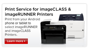 Canon Print Service for imageCLASS and imageRUNNER