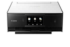 PIXMA TS9010, printer, wireless, mobile, scanner, home, inkjet, all-in-one, touchscreen, NFC, dvd print, sd card